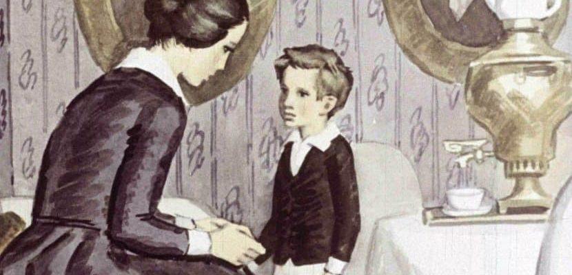 детство толстой краткое содержание по главам