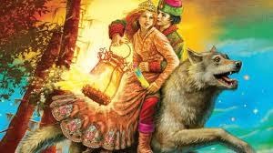 Сказка об Иване-царевиче, жар-птице и о сером волке кратко