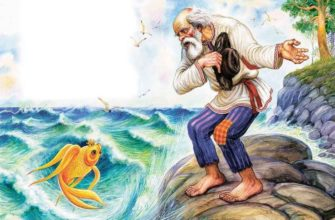 План к Сказке про Рыбака и Рыбку