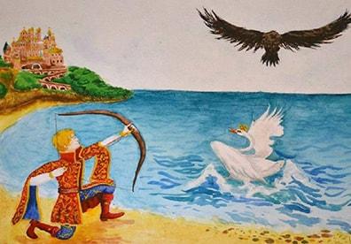 Сказка о царе Салтане краткое содержание