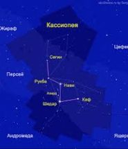 Доклад о созвездие кассиопея 953