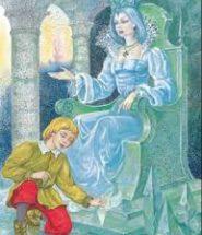 Кай в сказке андерсона снежная королева