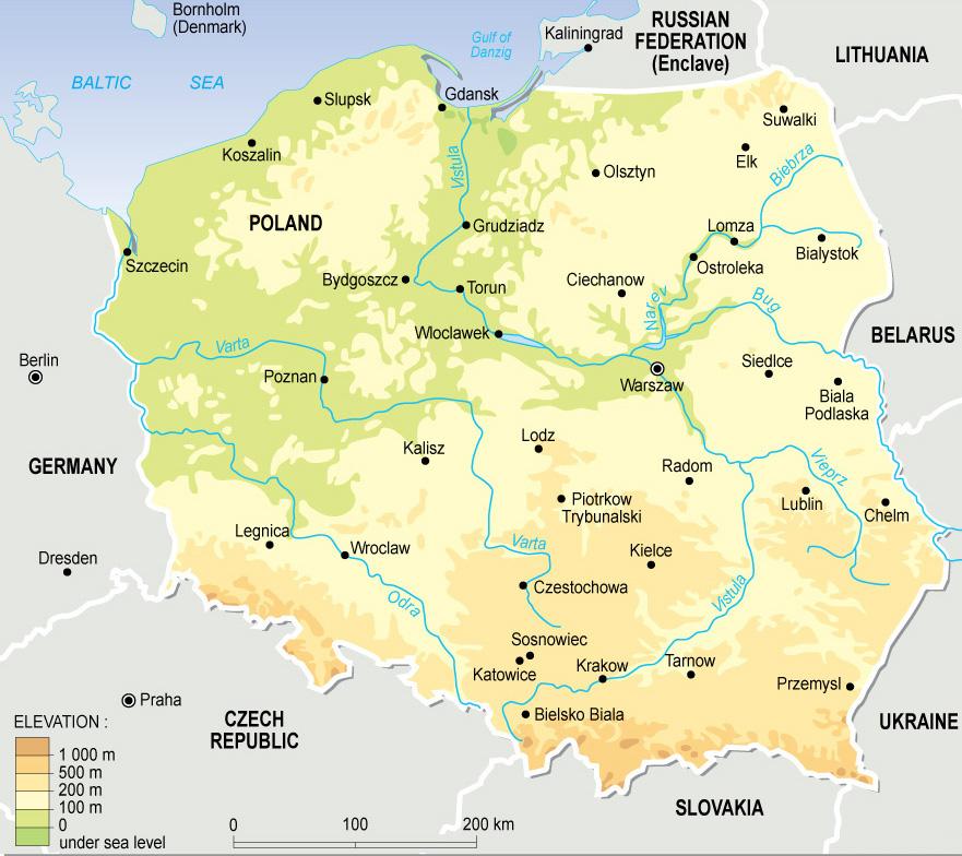 План описания страны Польша