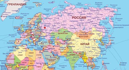 План описания страны Россия