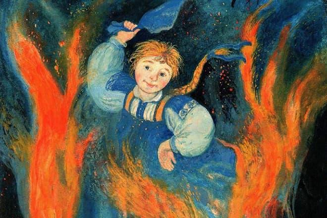 огневушка-поскакушка главные герои