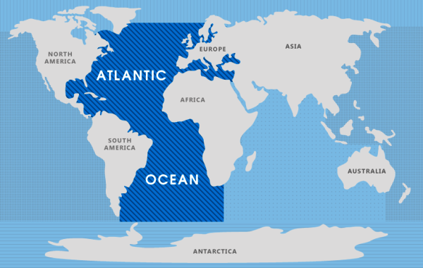 Особенности Атлантического океана