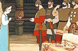 Мертвая царевна и семь богатырей план сказки