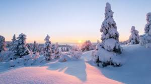 описание зимы в художественном стиле