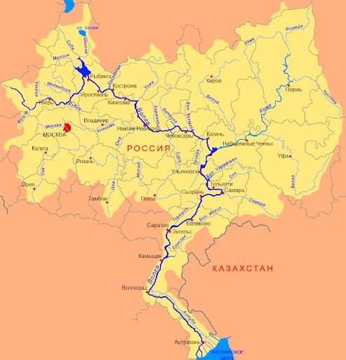 волга описание реки