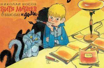Витя Малеев в школе и дома читательский дневник