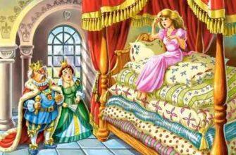 принцесса на горошине план сказки андерсен