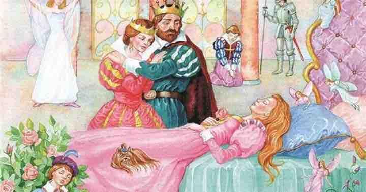 План Спящая красавица Шарль Перро