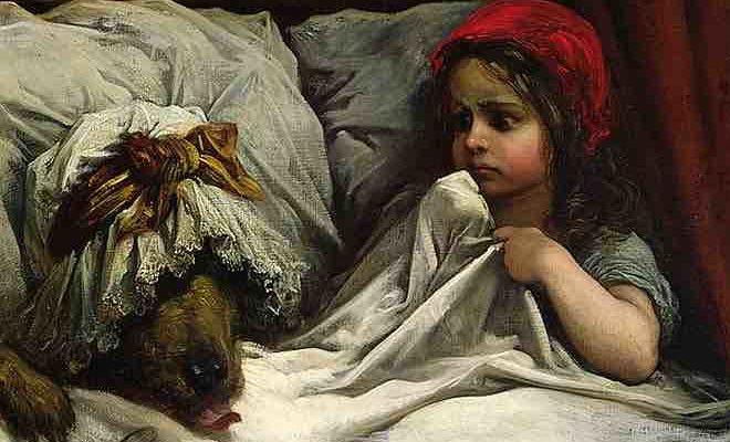 красная шапочка план сказки перро